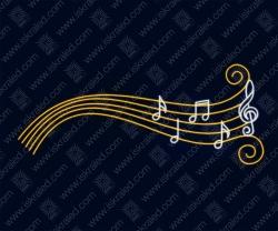 """Светодиодный подвес """"Мир музыки"""""""
