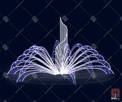 Светодиодный фонтан F101