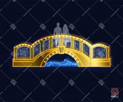 """Светодиодная 3D-фигура """"Мост"""""""