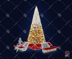 """Светодиодная елка """" Подарочная"""""""