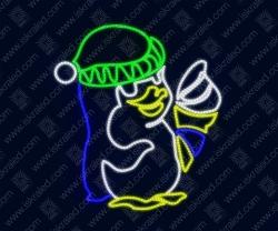 """Светодиодная 2D-фигура """"Пингвиненок"""""""