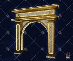 """Светодиодная арка """"Старый город"""""""
