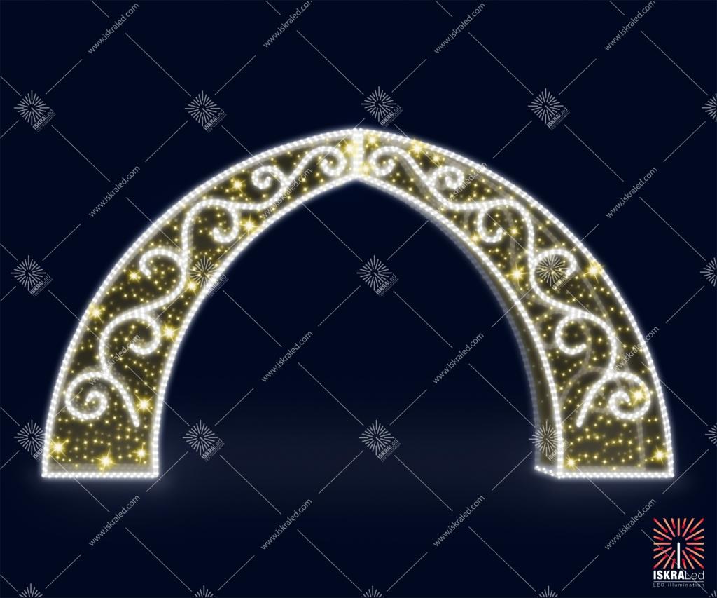 "Светодиодная арка ""Царские ворота"""