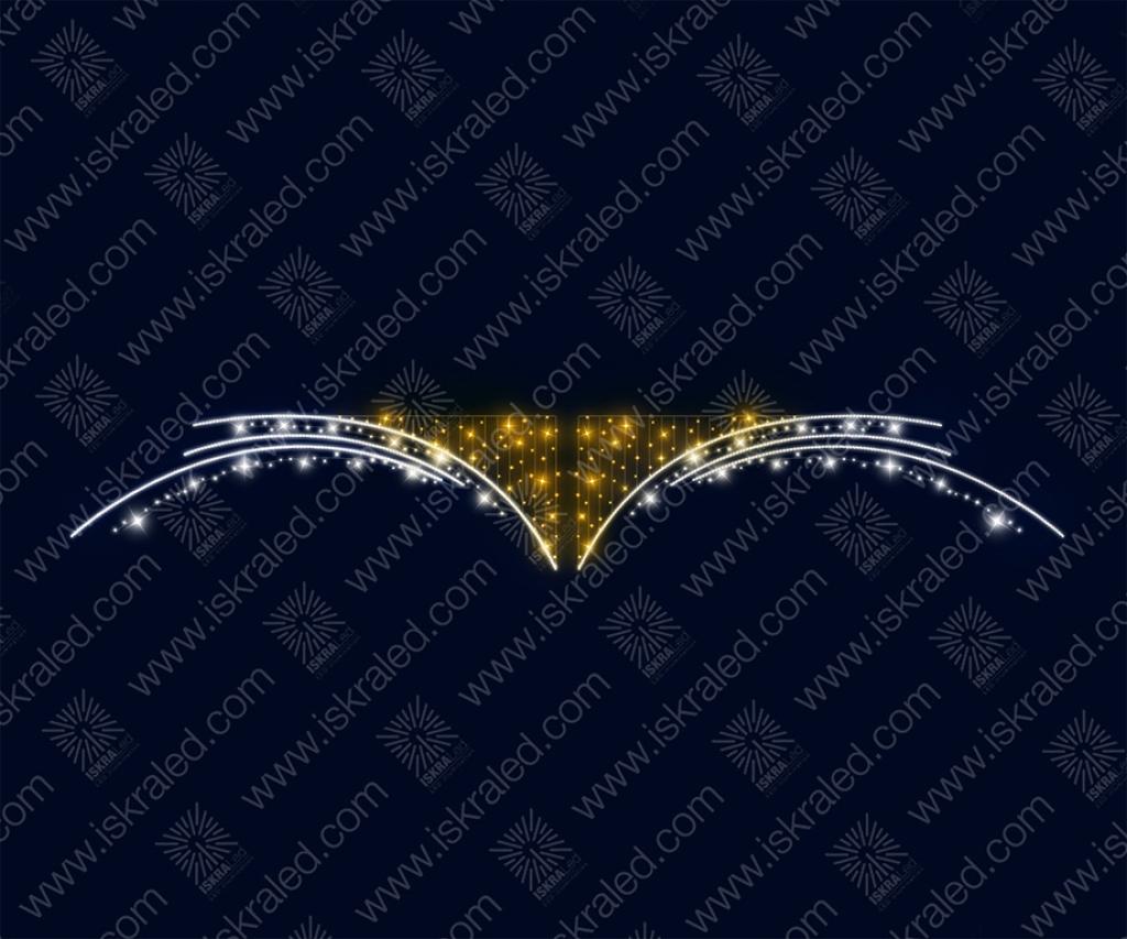 """Светодиодный подвес """"Крылья ангела"""""""