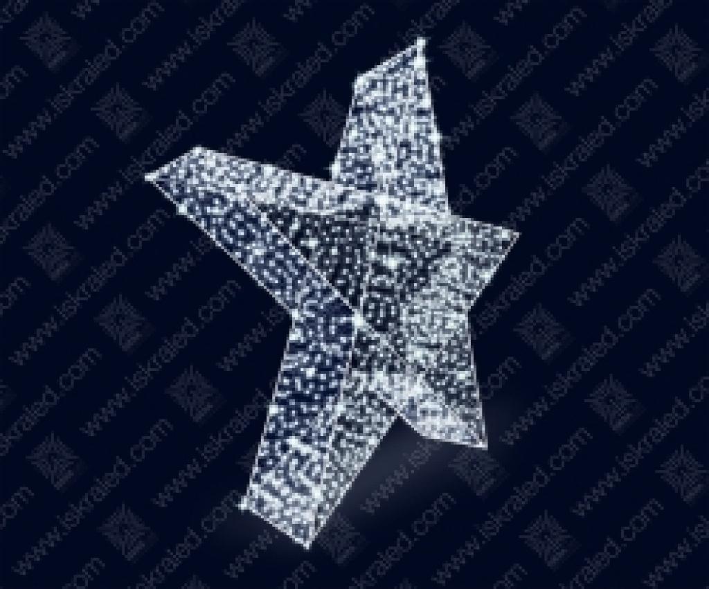"""Светодиодная 3D-фигура """"Звезда"""""""