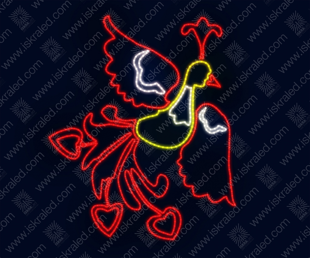 """Светодиодная 2D-фигура """"Жар-птица"""""""