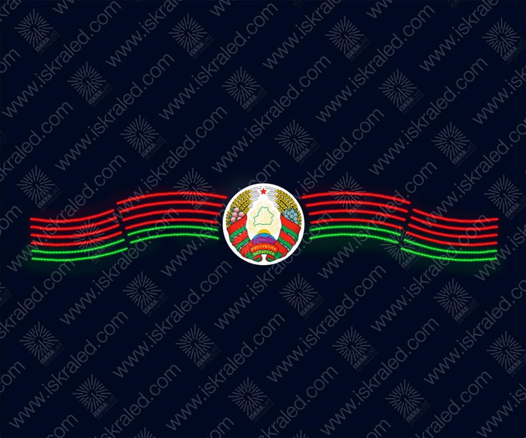 """Светодиодное панно """"Национальные символы Республики Беларусь"""""""